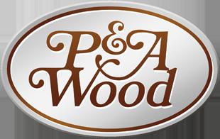 P & A Wood logo